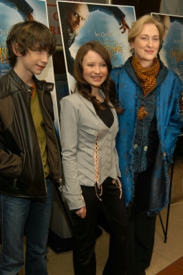 Liam Aiken, Emily Browning, and Meryl Streep