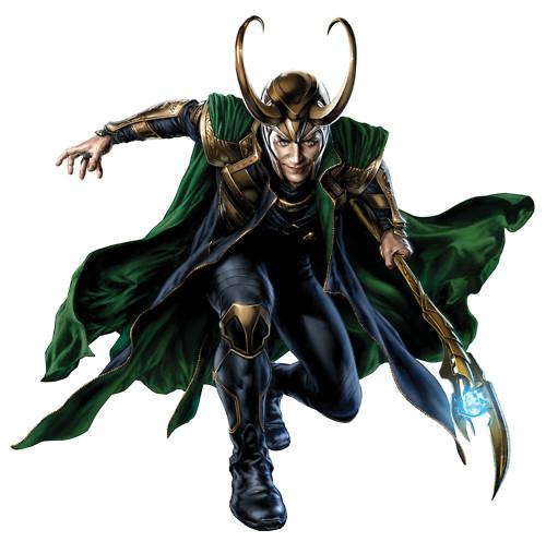 Loki 'Avengers' Promo Art