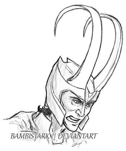 Loki (Thor 2011) fond d'écran entitled Loki