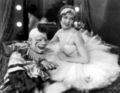 Lon Chaney Sr and Loretta Young in Laugh, Clown, Laugh (1928) - silent-movies photo
