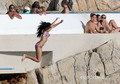 Lourdes Leon in a Bikini on the pantai in Nice, France, Aug 28