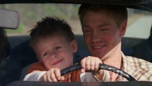 Luke lets Jamie drive