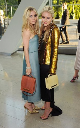 Mary Kate and Ashley - at the 2011 CFDA Awards, June 6, 2011