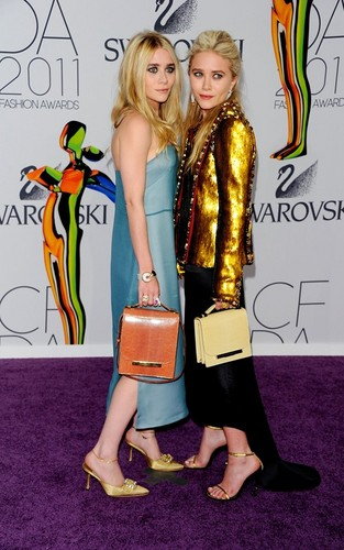 Mary Kate and Ashley - at the 2011 CFDA Awards, June 6, 2011