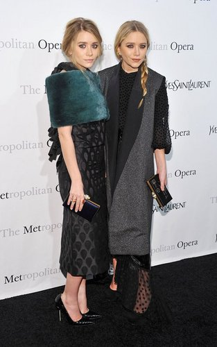 Mary Kate and Ashley - at the Metropolitan Opera House in New York, March 24. 2011