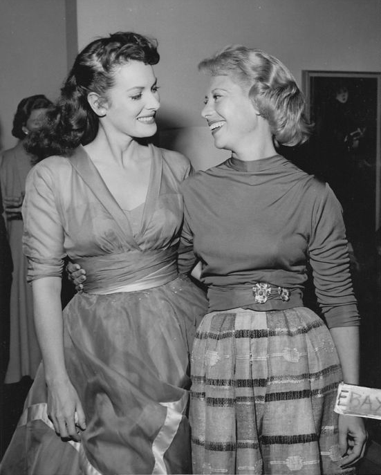 Maureen & Dinah Shore