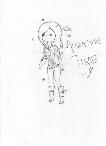 Me, Adventure Time style!