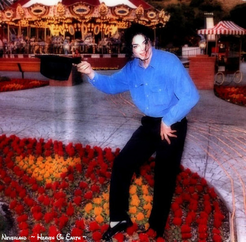 Michael In Neverland :D