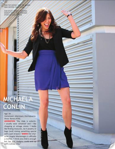 Michaela in Zooey Magazine