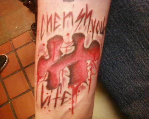 My Saw tattoo