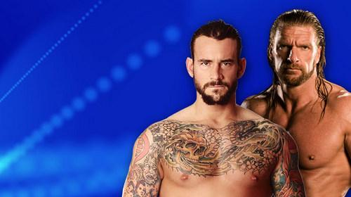 NOC:CM Punk vs Triple H