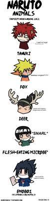 Naruto Tiere