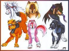 Наруто Волки