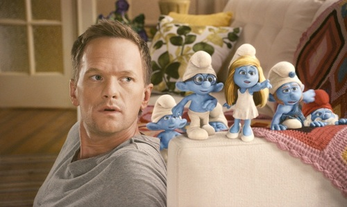 Neil and The Smurfs &gt;.&lt; - neil-patrick-harris Photo