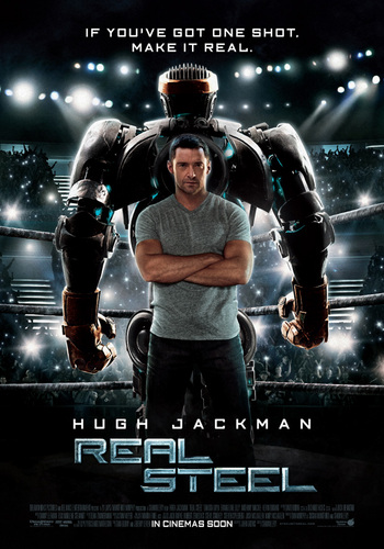 "New ""Real Steel"" Posters"