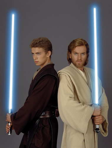 Obi wan and Anakin, attack of the clones