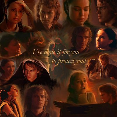 Anakin and Padme wallpaper probably with a brasserie and a sign called Padme and Anakin