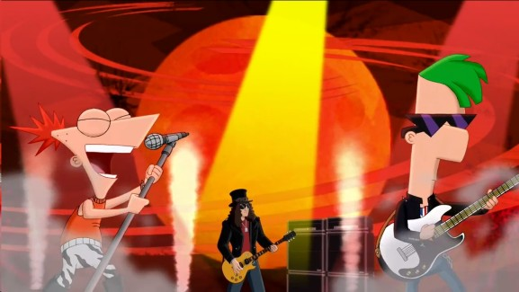 Phineas, Ferb and Slash