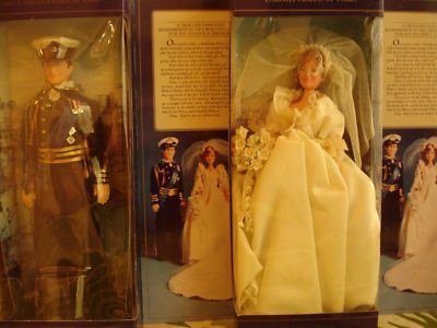Princess Diana royal wedding doll