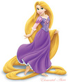 Rapunzel (bare feet)