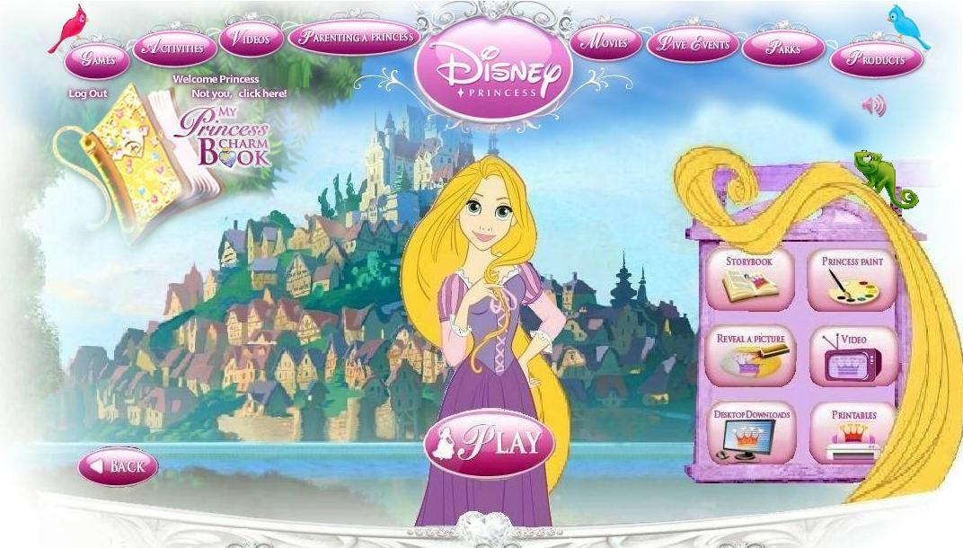 Rapunzel in DP site
