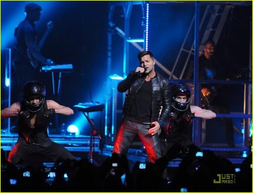 Ricky Martin: konsert in Sao Paulo!