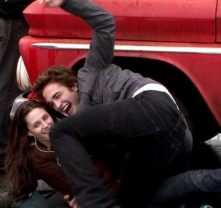 Kristen Stewart Dating Robert Pattinson on Robsten      Robert Pattinson   Kristen Stewart Photo  24993479