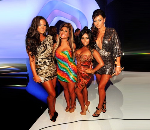 Sammi,Deena,Snooki,JWoWW-VMA's 2011 - jersey-shore Photo