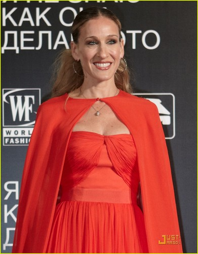 Sarah Jessica Parker: 'I Don't Know How She Does It' Moscow Premiere