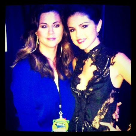 Selena with her Mother