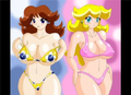 Sexy Princess peach and Daisy - princess-peach photo