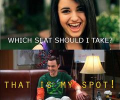Sheldon Cooper vs. Rebecca Black
