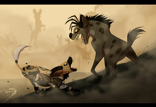 Hyenas from Lion King fond d'écran titled Shenzi