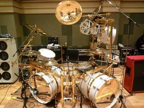 Shinya's Drumset