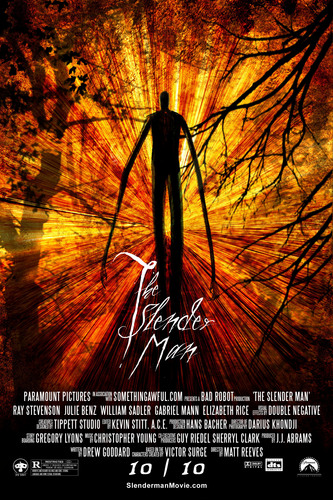 The Slender Man wallpaper possibly containing a sunset, sunniness, and a grainfield entitled Slender Man Speculative Movie Poster