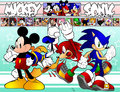 sonic-the-hedgehog - Sonic And Mickey screencap