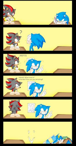 Sonic Draws Awesome