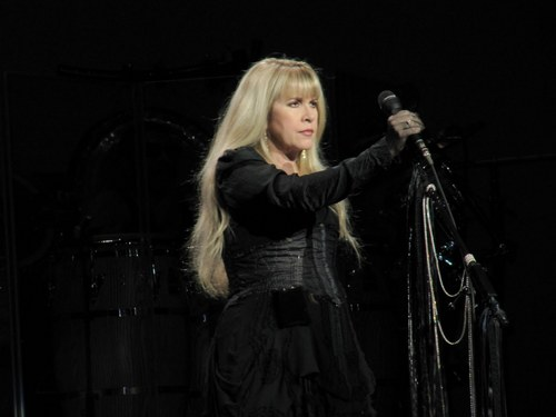stevie nicks wallpaper probably containing a show, concerto and a hip boot titled Stevie On Stage