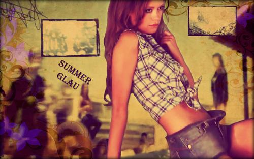 Summer Glau FHM Biker