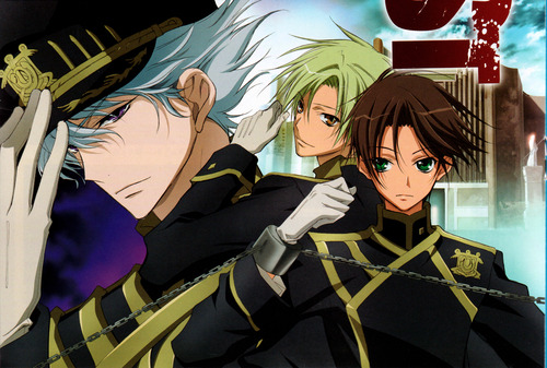 Teito,Mikage & Ayanami