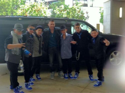 The Boyz at the VMA's<3