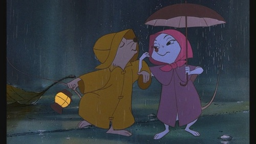 Classic Disney wallpaper called The Rescuers