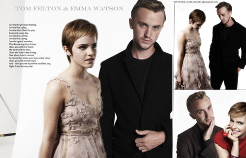 Tom Felton & Emma Watson ♥