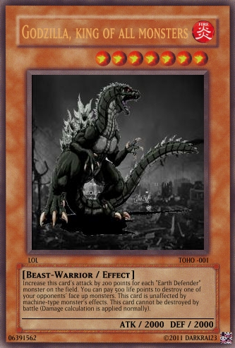 YCM: Godzilla monsters