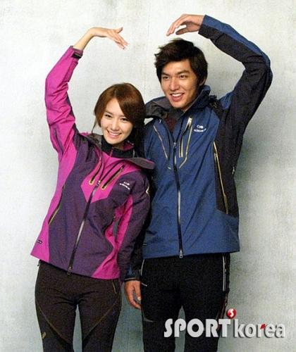 Yoona & Lee Minho for Eider
