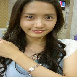 Girl's Generation/SNSD karatasi la kupamba ukuta with a portrait entitled Yoona PreDebut