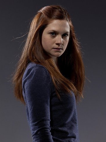 bonnie wright wallpaper probably with a pullover, a coquetel dress, and a well dressed person titled New Deathly Hallows Part 2 Promo