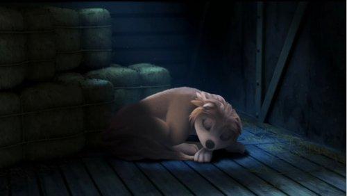 kate sleeping peacefully