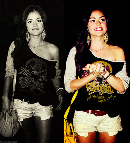lucy hale;