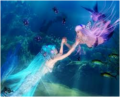 mermaid luka & miku - vocaloid-characters-%E2%99%AB photo